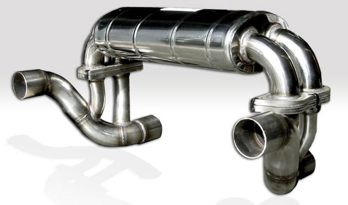 Quicksilver Titan Sport Exhaust System Ferrari F430 Scuderia 08-09 - FE432T