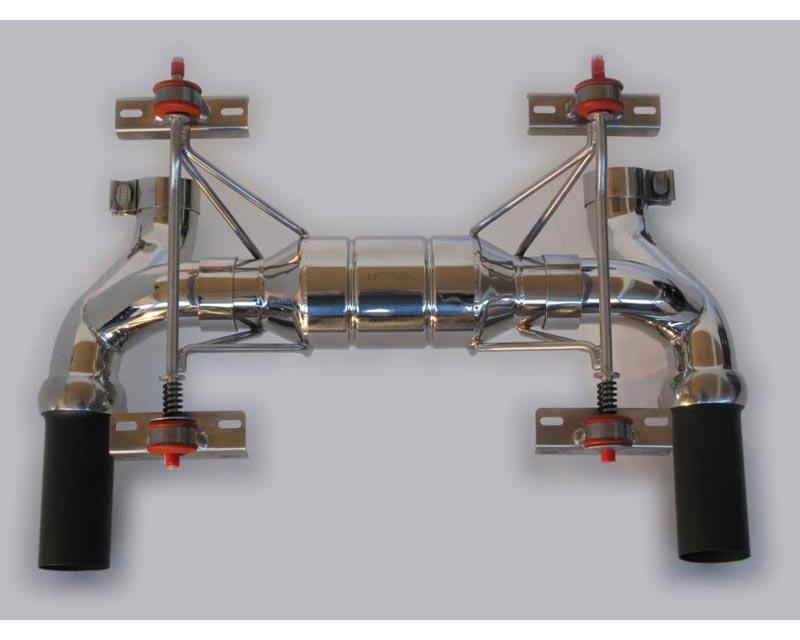 Novitec Stainless Steel Power Optimized Exhaust System With Flap Regulation Ferrari F430 04-09 - F1 430 20