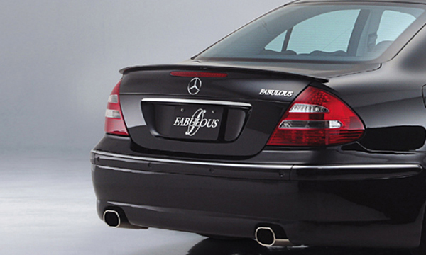 Fabulous Rear Wing Mercedes E Class W211 03-07