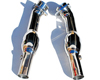 Image of FabSpeed 200 Cell HJS Sport Catalytic Converters Ferrari F430 05-09