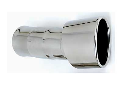 Fabspeed Deluxe Oval Style Right Side Tip For Stock Muffler Only Porsche 964 Carrera 89-94 - FS.POR.964.SROTP