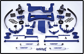 Fabtech 8in Lift System GMC Sierra 2500 HD 01-06 - K1015