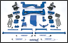 Fabtech 6in Lift System Chevrolet Avalanche 4WD 01-06