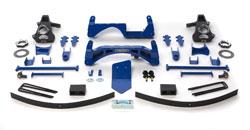 Fabtech 6in Basic Lift System Chevrolet Silverado 1500 4WD 07-08 - K1024