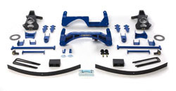 Fabtech 6in Basic Lift System GMC Sierra 1500 2WD 07-08 - K1027
