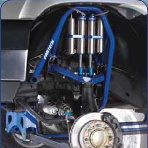 Fabtech 8in Lift System Dirt Logic Shocks Chevrolet Silverado 2500 HD 07-08