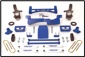Fabtech 6in Performance System Ford F-150 4WD 97-04 - K2004