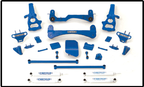 Fabtech 6in Performance Lift System Dodge Ram 1500 4WD 02-05 - K3000