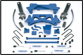 Fabtech 6in Performance System Toyota Tacoma 4 Cyl 99.5-04 - K7003