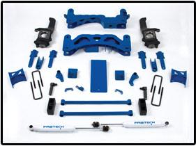Fabtech 6in Basic Lift System Toyota Tundra 07-08 - K7009
