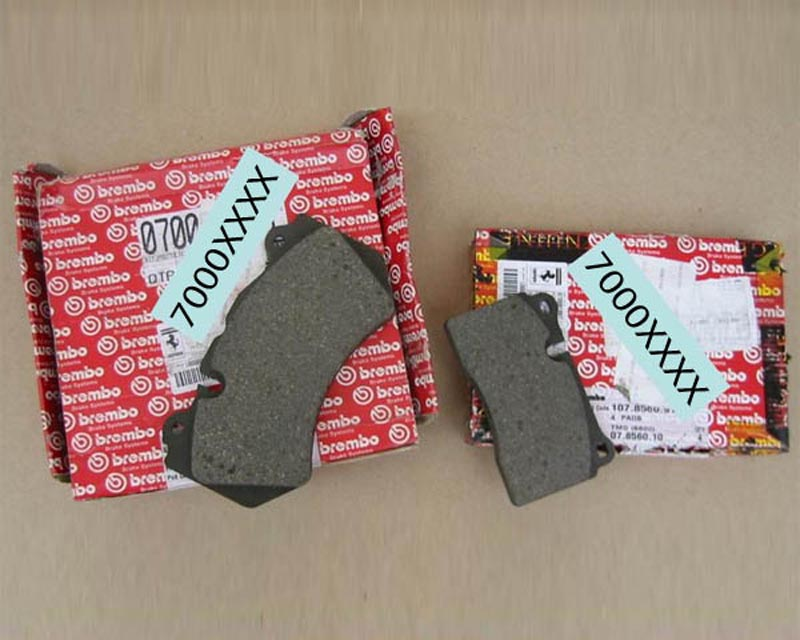 Image of Ferrari OEM Front Ceramic Brake Pads Ferrari California 08-12