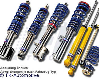 FK Auto Highsport Coilovers Audi TT MK1 Convertible 98-06