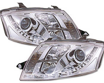 Auto Warranty Racing on Fk Auto Daylight Design Chrome Headlights W O Motor Audi Tt Mk1 99 06