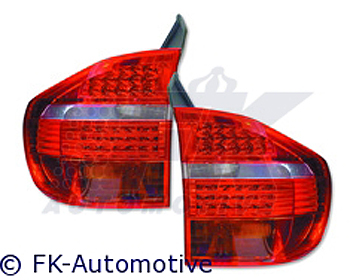 FK Auto LED Design Red Taillights BMW X5 E70 06-10 (Euro)