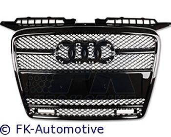 Reviews: FK Auto ABS Sport Grill w/Lights w/Emblem Audi A3 05-08