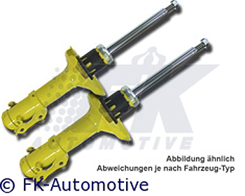 FK Auto Sport Rear Shock BMW 3-Series (E46) 99-05