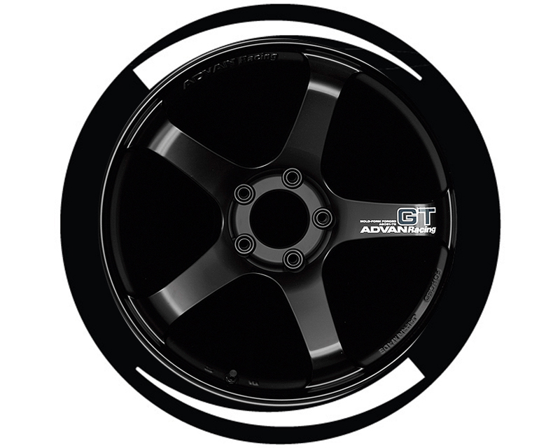 Tire Stickers Permanent Raised Rubber Design Flares - TS-FLARES4-RR