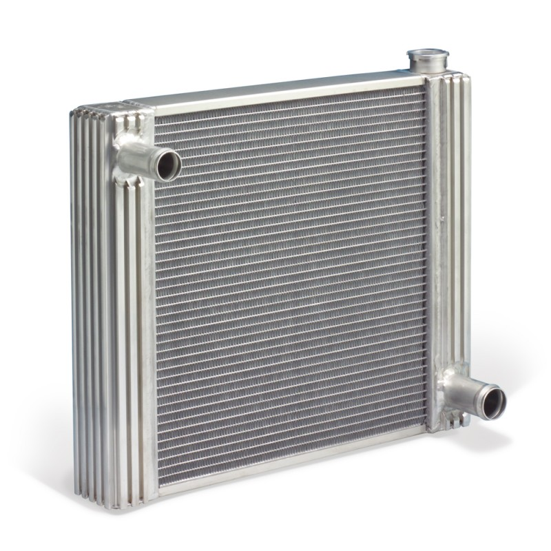 Image of Flex-A-Fit Aluminum Radiator for Jeep CJ with GM Engine Conversion 72-86