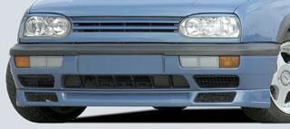 Rieger DTM Splitter for GTX Front Spoiler Volkswagen Golf III 93-99 - R 42012