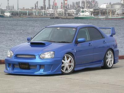 Liberal Full 5pc Body Kit Subaru WRX/STI 2004+ - libwrx04-kit
