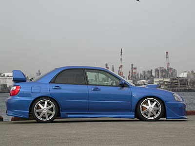 Liberal Fiberglass Side Skirts Subaru WRX/STI 2004+ - libwrx04-ss