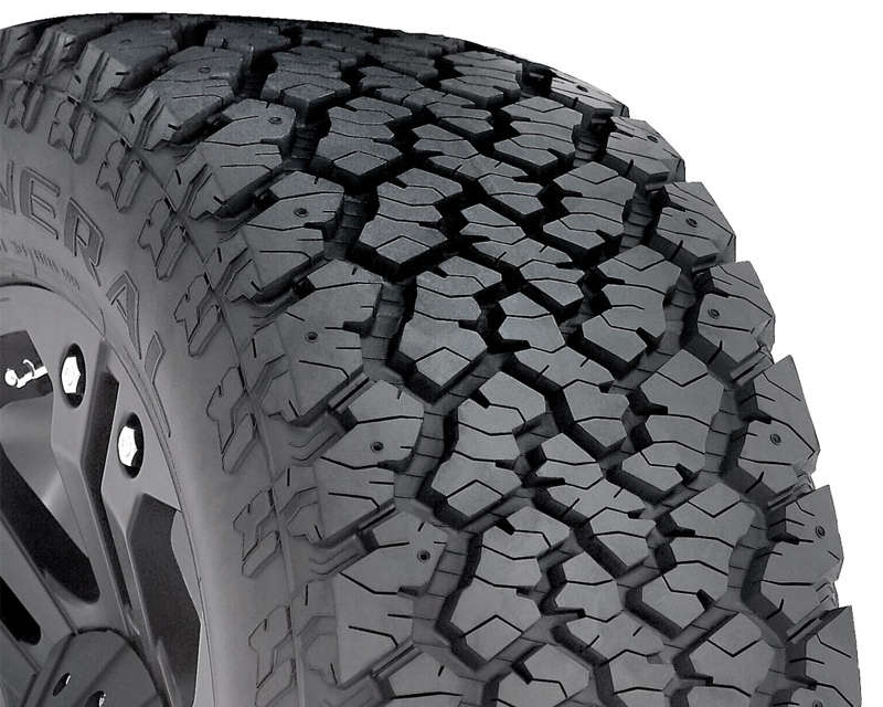 General Grabber AT2 Tires 265/70/17 121Q Owl