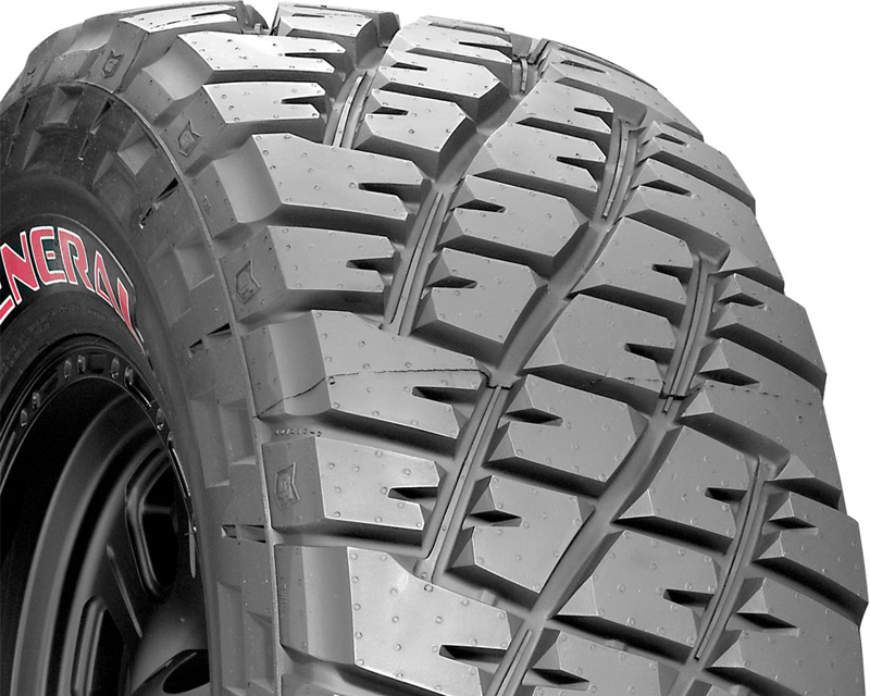 General Grabber Red Letter Tires 33/1250/17 105Q Red