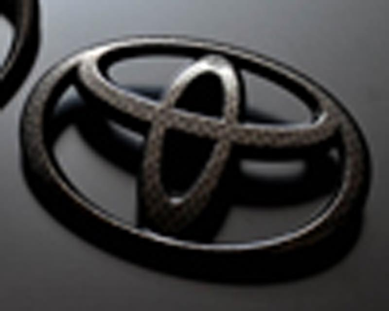 Image of Grazio Co. Carbon Look Front Toyota Emblem Scion FR-S Toyota GT-86 13