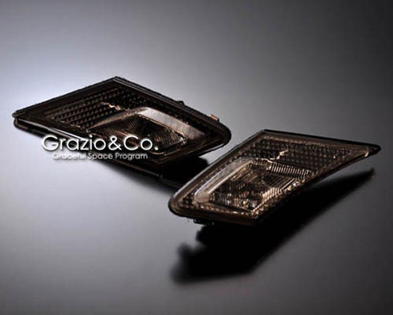 Grazio & Co. Tinted Side Marker Lights Scion FR-S / Toyota GT-86 2013-2021 - GRAZ-86-STL