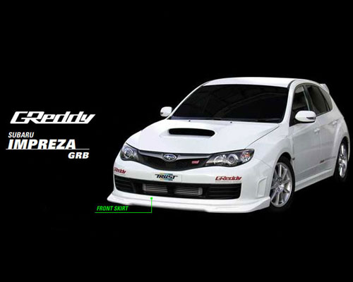 GReddy Front Lip Spoiler Subaru Impreza WRX/STI 08-13 - 17060054