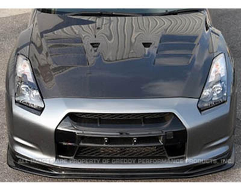 Image of Top Secret Carbon Hood Nissan GT-R R35 09