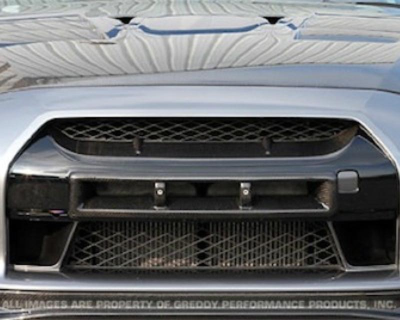 Image of Top Secret Carbon Fiber Intake Grill Nissan GT-R R35 09