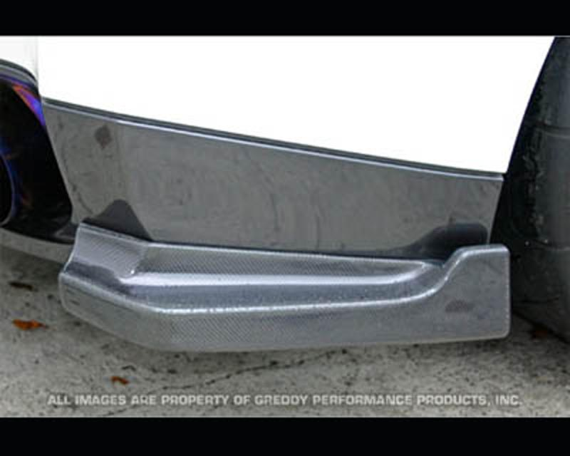 Image of Top Secret Carbon Fiber Side Rear Diffuser Nissan GT-R R35 09