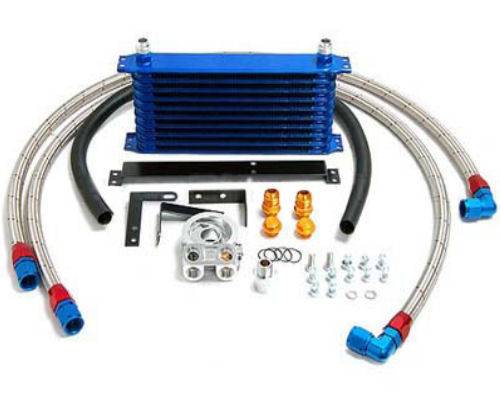 13 Row Oil Cooler Kit by GReddy