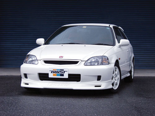 Greddy Gracer Front Lip Spoiler Honda Civic Si 99-00
