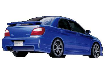 Griffin Rear Spoiler Lip Subaru WRX/STI 02-07