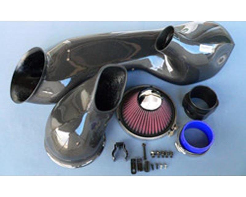 GruppeM Carbon Fiber Ram Air Intake System Porsche 911 C2 996 98-00 - FRI-0137