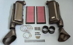 Gruppe M Ram Air Intake System Mercedes Benz R230 AMG SL55 02- - FRI-0401