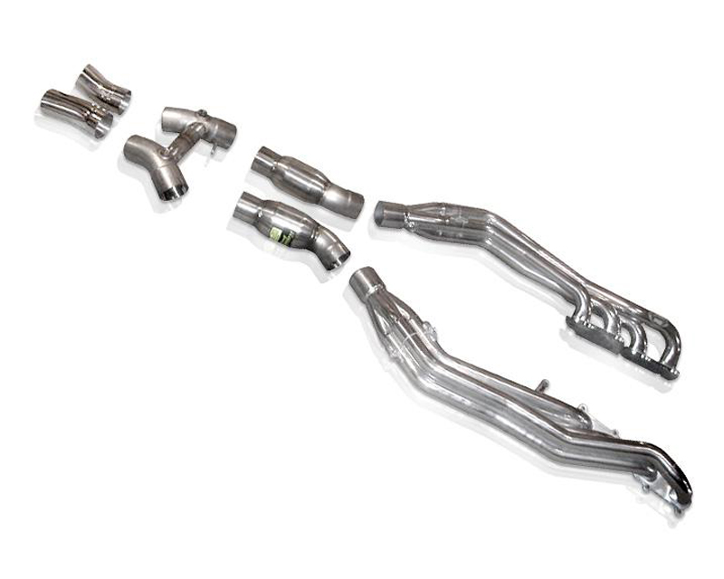 Stainless Works 3in Complete Exhaust System with High Flow Cats Ford GT 5.4L 05-06 - GTCAT