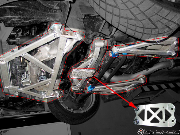 Suspension Stiffening Do Luck Or Gt Spec Subframe Brace