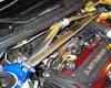 Image of GTSPEC Aluminum Type F Front Strut Bar Mitsubishi EVO VIII IX 03-07