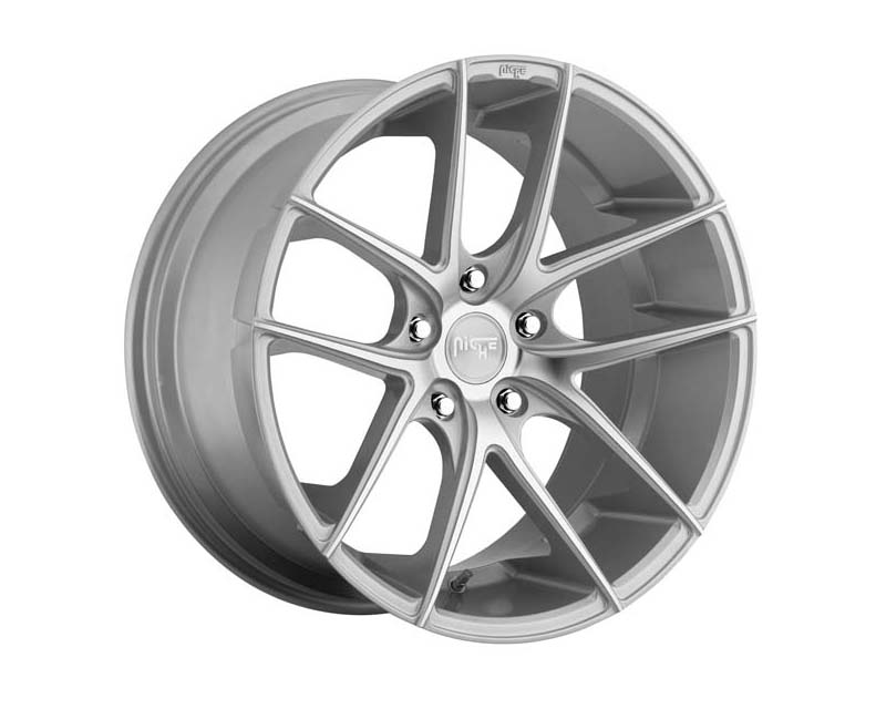 Niche M131 Targa Wheel 19x8.5 5x112 42mm Gloss Silver Machined - M1311985F8+42