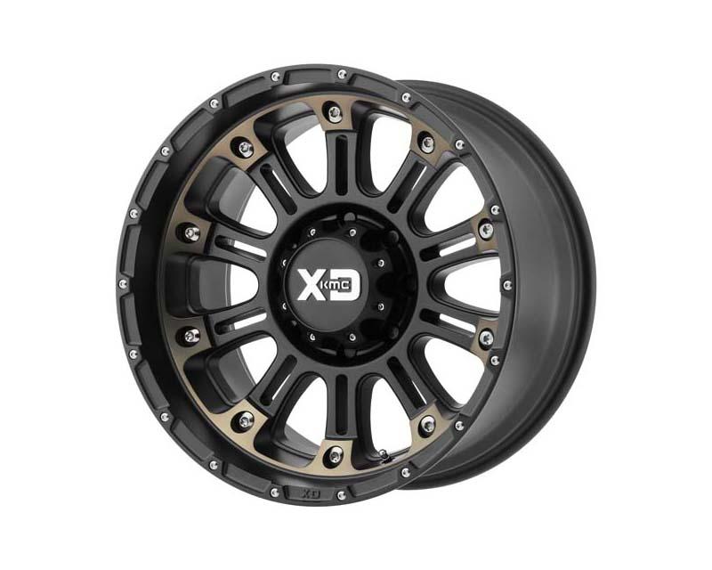 XD Series Hoss 2 Satin Black Mach w/Dark Tint 22x12 8x165.10 -44 - XD82922280944N