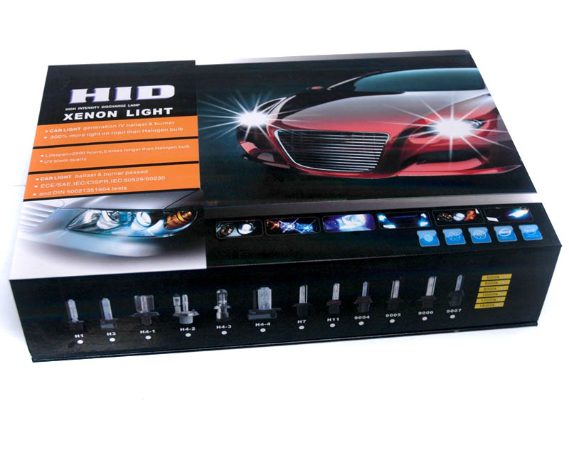 HID 8000K Low-Beam Kit H1 Universal