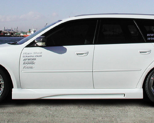 Hippo Sleek Subaru BP5 Legacy Side Skirts - hp-leg-ss