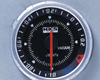Image of HKS Chrono DB Vacuum Meter 60mm Electronic Black