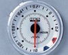 Image of HKS Chrono DB Vacuum Meter 60mm Electronic White