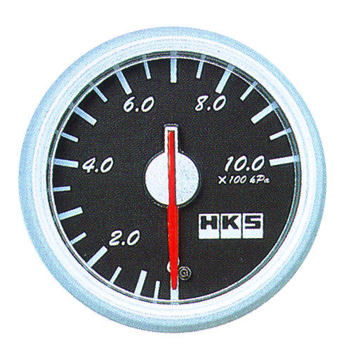 HKS DB Pressure Meter 60mm Mechanical Black - 44004-AK006