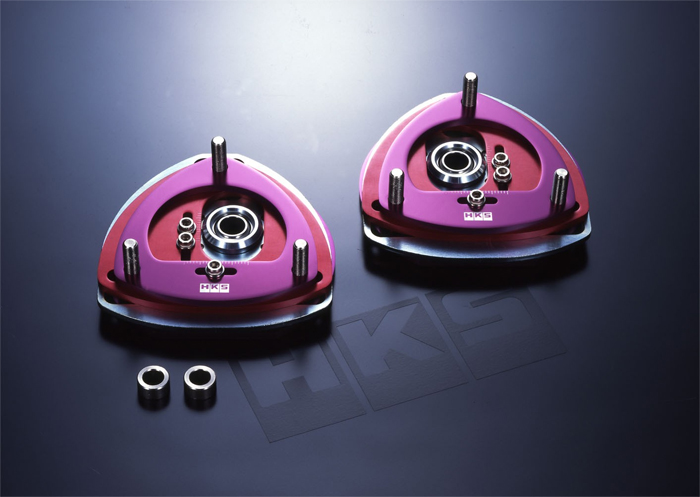 HKS Front 2-Way Adj Pillow Ball Mounts Mitusbushi EVO 03-05