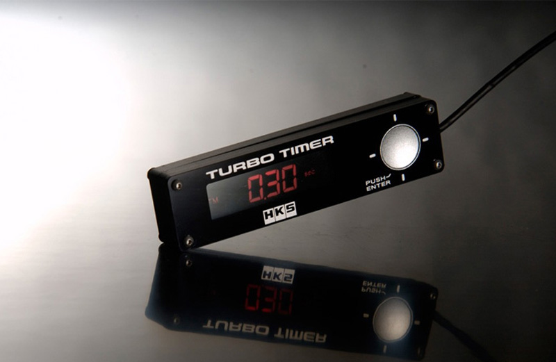 HKS Type 0 Turbo Timer Black - 41001-AK009